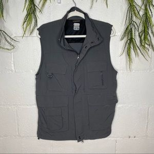 Columbia Titanium Outdoor Utility Vest Grey Size S
